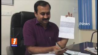 Threatening Letter to YCP MLA Alla Ramakrishna Reddy on Vote for Note Case iNews