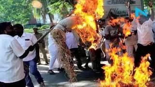 Cauvery row: Bengaluru, Mysuru face street violence