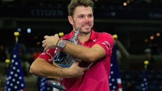 Wawrinka wins US open in four sets
