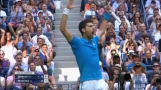 Wawrinka beats Djokovic in four sets to win U.S. Open