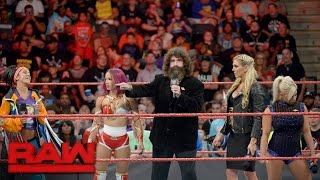 Mick Foley addresses the state of Raw's Women's division: Raw, Sept. 12, 2016