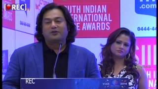 SIIMA Awards 2014 Curtain Raiser Press Meet Actress Shriya Actor Rana bytes