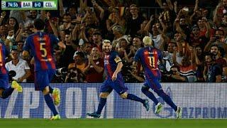 Barcelona 7-0 Celtic UEFA Champions League 13.09.2016