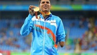 Devendra Jhajharia wins gold at Paralympics, breaks own world record