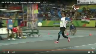 Devendra Jhajharia wins gold at Rio Paralympics in Javelin throw