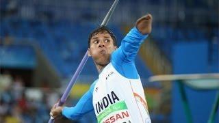 Devendra Jhajharia: India Paralympics medallist breaks own record