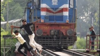 Indian funny train videos, Longest train in India, Indian train accidents