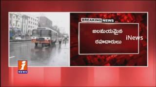 Massive Rainfall in Hyderabad iNews