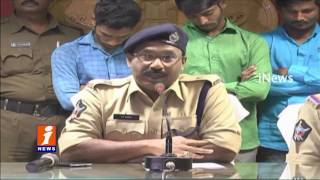 Guntur Police Arrested Serial Thieves - Huge Gold Recovered From Thieves - iNews