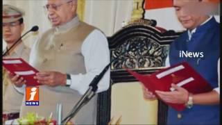 CM Pema Khandu and 40-odd MLAs to join People's Party   Arunachal Pradesh iNews