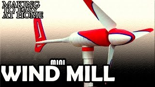 How To Make Windmill Science At Home Easy