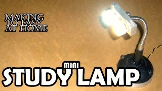 How to Make Table Lamp at Home Easy