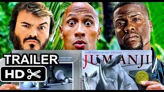 JUMANJI 2 Movie Trailer 2017 Kevin Hart Dwayne Johnson Jack Black HD fan made