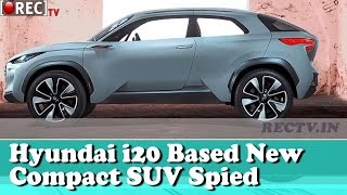 Hyundai QXi sub 4m SUV to launch in India in 2019 || Latest