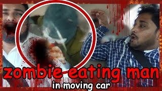 Epic Zombie attack in car - pranks in India 2016 - UngliBaaz