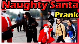 Naughty Santa Christmas Prank - Funny Public Pranks in India 2015 - UngliBaaZ
