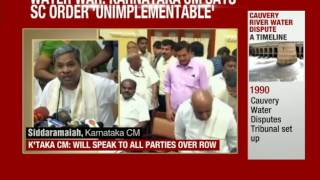 Karnataka Defies SC, Defers Release of Cauvery Water