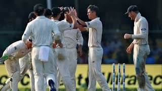 India vs New Zealand - 1st Test - Day 2 - India All Out For 318 in 1st Innings