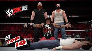 Sweet, Sweet Victory Scenes: WWE 2K16 Top 10