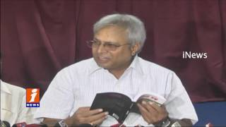 Undavalli Responds on Central Minister Jaipal reddy Over Comments on Division Book   iNews