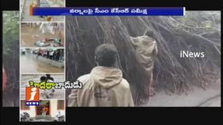 KTR,Laxma Reddy Visits Flood Affected Areas in Hyderabad | iNews