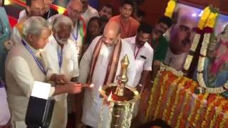 Amit Shah Inaugurated the BJP National Office Bearers Meeting in Kozhikode, Kerala.