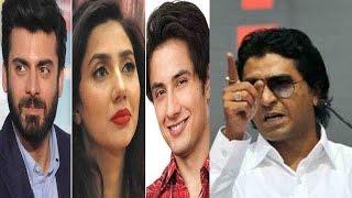 MNS Warns Pakistan Artistes to Leave India Within 48 Hours - Fawad Khan, Ali Zafar, Mahira Khan