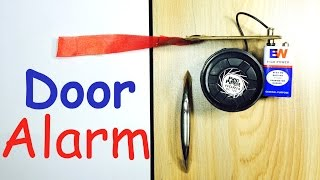 How to make DOOR ALARM at Home