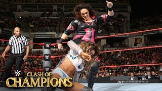 Alicia Fox vs. Nia Jax: WWE Clash of Champions 2016 Kickoff