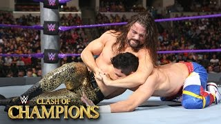 T.J. Perkins vs. Brian Kendrick - WWE Cruiserweight Title Match: Clash of Champions on WWE Network