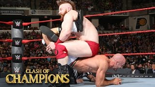 Sheamus vs. Cesaro - Best of Seven Series Match No. 7: WWE Clash of Champions 2016 on WWE Network