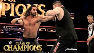 Seth Rollins vs. Kevin Owens - WWE Universal Title Match: WWE Clash of Champions 2016 on WWE Network