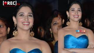 Actress tamanna PHoto Shoot stills at Abhinetri audio launch - latest tollywood photo gallery