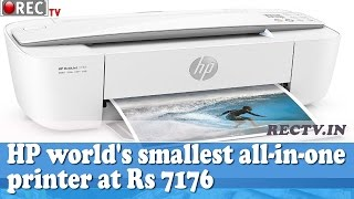 66b5b78dbf9 Watch HP announces worlds smallest all in one printer at... (video ...