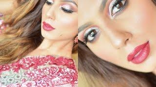 GRWM - Eid - Pakistani - Indian Wedding Makeup Tutorial