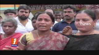 Sonia Gandhi Nagar People Protest Against Illegal Construction Demolition in Kapra |  iNews