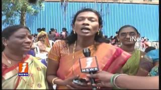 AP and Telangana Woman Secretariat Employees Get Together at Secretariat | Hyderabad | iNews