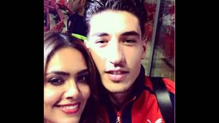 Hector Bellerin dines Bollywood star Esha Gupta Arsenal defender's new girlfriend