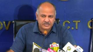 Dy CM Manish Sisodia Briefs Media on the mishap happened at Govt School in Nagloi