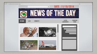 News of the Day-11/10/2014-Vishwa Gujarat