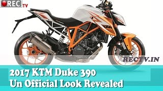 2017 KTM Duke 390 Un Official Look Revealed - latest automobile news updatesa