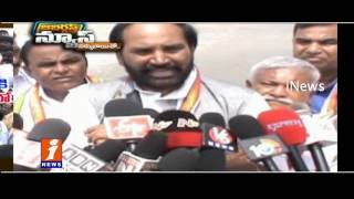 Congress Leaders Use Irrigation Projects to Slam T Govt   Jabardasth   iNews