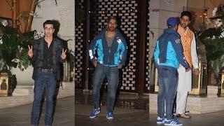Ranbir, Abhishek & Varun Spotted At ISL 2016 Party!