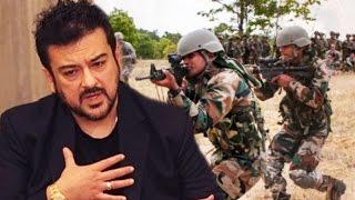 Adnan Sami CONGRATS Indian Army For Attacking Pakistan - Surgical Strikes