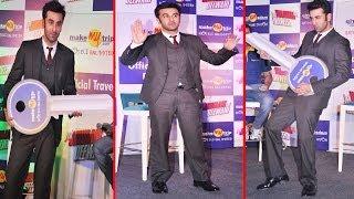 Ranbir Kapoor With ''MAKE MY TRIP'' Promotes ''Yeh Jawani Hai Deewani''