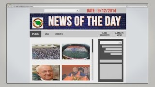 News of the day 9/12/2014-Vishwa Gujarat
