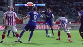 ISL 2016 HIGHLIGHTS Athletico De Kolakata 2-2 Channaiyin FC