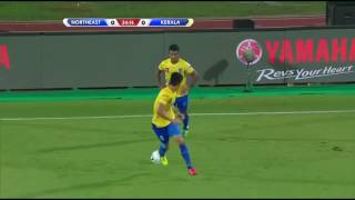 ISL 2016 1st Match - 1st Half - North East United Vs Kerala Blasters