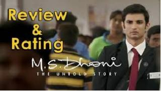 M S Dhoni - The Untold Story Film Review