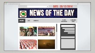 News of the Day-29/12/2014-Vishwa Gujarat